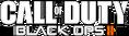 Black Ops II Logo - White