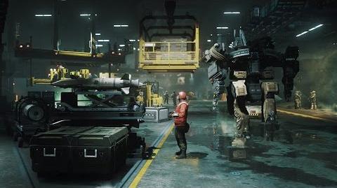 Call of Duty® Infinite Warfare – UNSA Retribution Flight Deck Tour