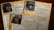 Información de personajes WWII