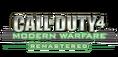 COD MW Remastered logo