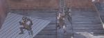Miembros de la TF 141 en un tejado
