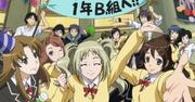 Aoba, Uesugi et la classe pour la fête d'Ôgami