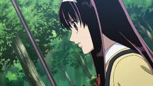 Sakura pensive
