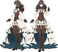 Cardia Beckford (anime) settei 1