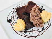 Gâteau au chcolat en mousseline