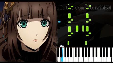 """Code Realize Sousei no Himegimi OP """"Kalmia"""" - Mia REGINA (Synthesia Piano Tutorial)"""