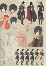 Arsène Lupin (Character Design Taken) 1