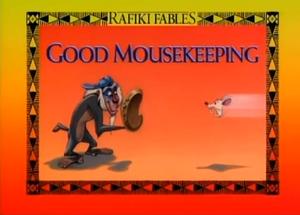 Good Mousekeeping