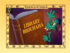 Library Brouhaha