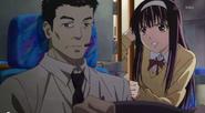Sakura with driver