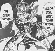 Code Emperor returns