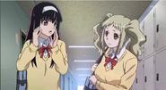Sakura with Aoba