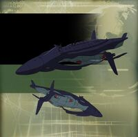 Vehicle - Black Knight's Submarine - A