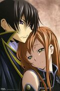 Lelouch x Shirley Black knights