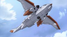 Brit transport plane