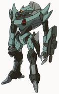 Gekka Arm Mounted Gun Artwork