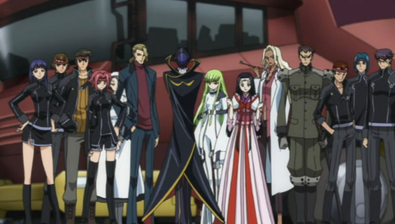 The Order Of The Black Knights Code Geass Wiki Fandom Powered By