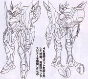 Sketch-Lancelot Grail back and front (without back appendages)