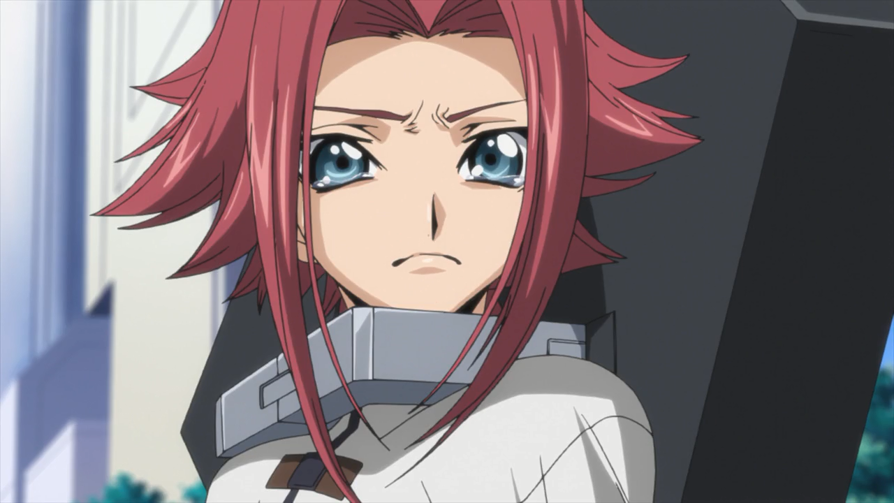 Anime Characters Crying : Image kallen crying after learning the truth of the zero requiem
