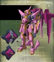 Lancelot frame frontier by roboto03