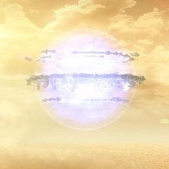 Експлозија елемента који је Нинџа поставио.