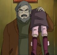 Unconscious Aelita shoulder carry