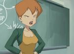 Ms. Kensington is annoyed with Odd's behavior