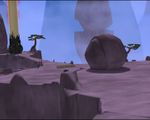 Code Lyoko - The Mountain Sector - Rocks