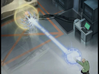 Lab Rat Aelita spectre makes a barrier image 1