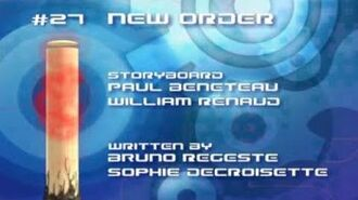 Code Lyoko All Season 2 Title Cards