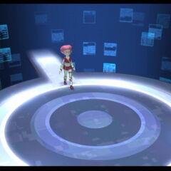Aelita ulazi u toranj.