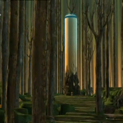 Торањ у шумском сектору.