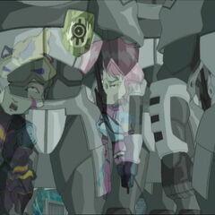 Аелита и Од се огледају у роботима.