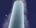 Fan flying around the tower.png