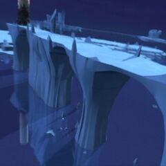 Мост до торња у леденом сектору.