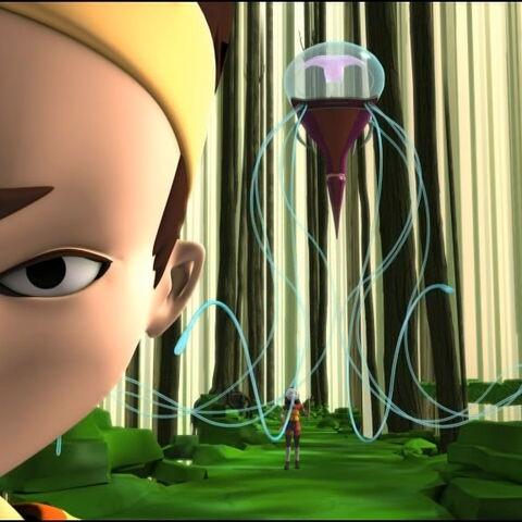 Медуза напада Јуми.