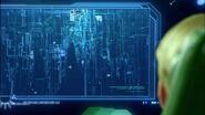 Цифровое море на экране