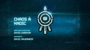 Chaos à Kadic title