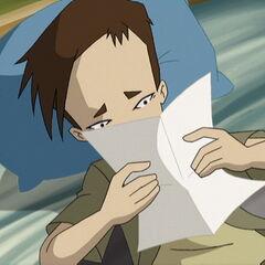 Ulrik čita pismo.