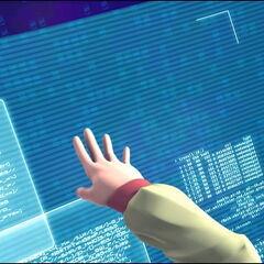Аелита преузима (лажне) податке из интерфејса.