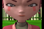 XANA Aelita in Forest Sector