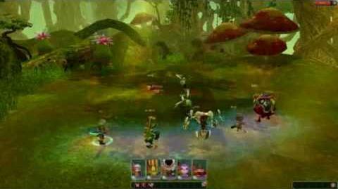 CLU Second Code Lyoko MMORPG Test Video..