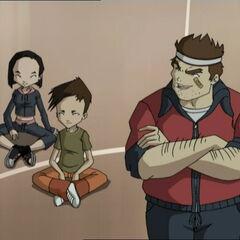 (Слева надесно) Јуми, Улрик и <a href=
