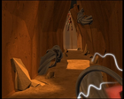 Code Lyoko - The Desert Sector - Tunnels