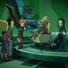 Група у лабораторији.