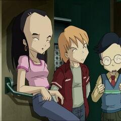 Сиси, Николас и Херв код аутомата.