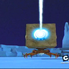 Блок пуца свој ледени зрак.