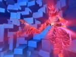 Scorpion hit by Energy Field