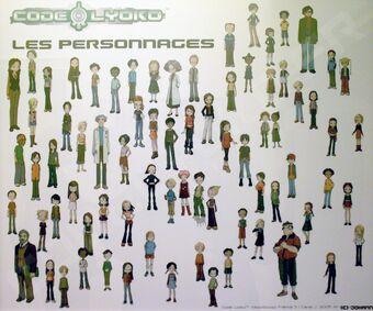 List Of Characters Code Lyoko Wiki Fandom