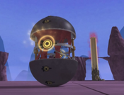 Megatank prepare horizontal laser